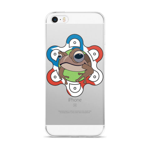 Puerto Rico Coqui, Sol Taino and Flag iPhone case Cell Phone Case - MyBorinquen.com Web Store