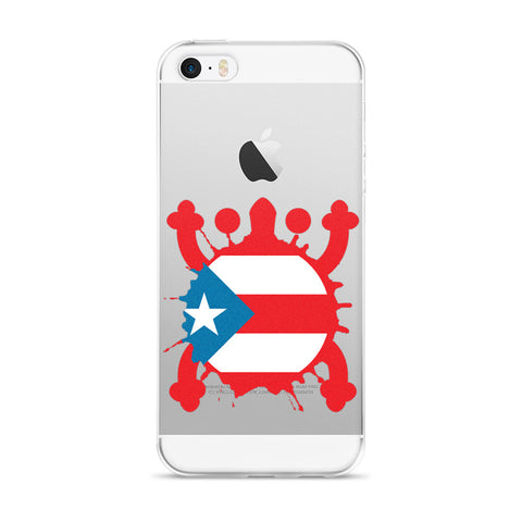 Puerto Rico Coqui and Sun iPhone case Cell Phone Case - MyBorinquen.com Web Store