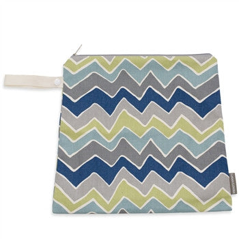 Logan + Lenora Zoom Zig Zag Mini Wet Bag