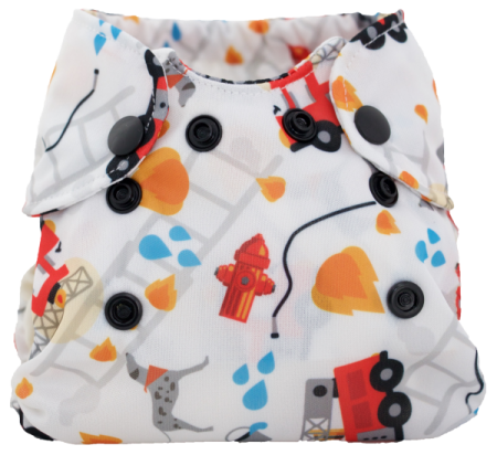 Smart Bottoms Born Smart Newborn Diaper- Rescue
