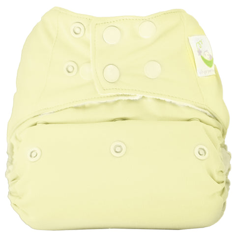Sweet Pea Microfiber Pocket Diaper - Butter