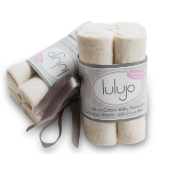 Lulujo Organic Cotton Washcloth