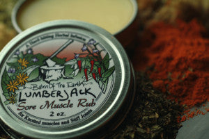 Balm of the Earth - Lumberjack Sore Muscle Rub
