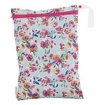 Smart Bottoms On The Go Wet Bag- Aqua Floral