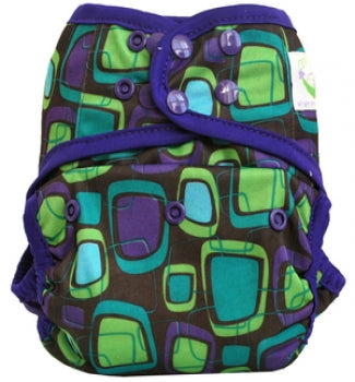 Sweet Pea Cloth Diapers - One-size Covers - Retro