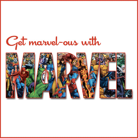 Get Marvel-ous with Marvel from RetroGlam.com