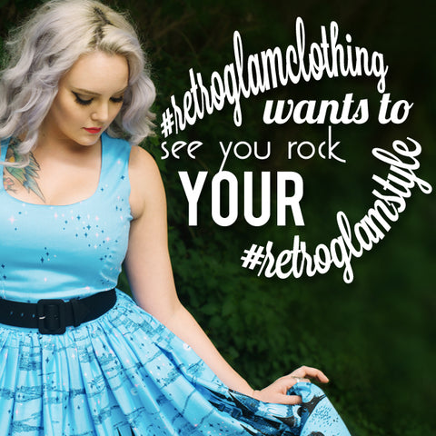 #retroglamclothing wants to see you rock your #retroglamstyle
