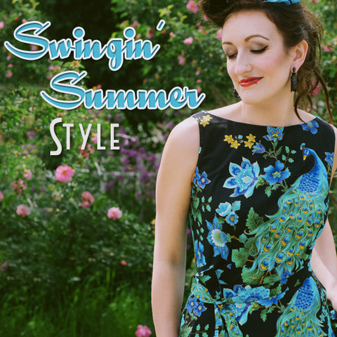 Swingin' Summer Style Goods to be found at Retro Glam Clothing!
