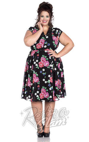 Hell Bunny Bloomsbury 50's Dress Plus Size