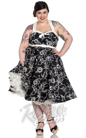 Hell Bunny Mistral 50's Dress curvy pinup