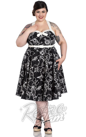 Hell Bunny Mistral 50's Dress curvy