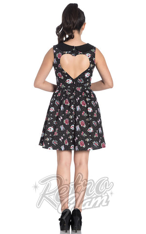 Hell Bunny Stevie Mini Dress back