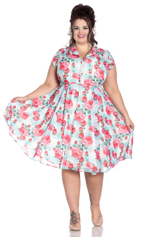 Hell Bunny Suzannah Dress curvy