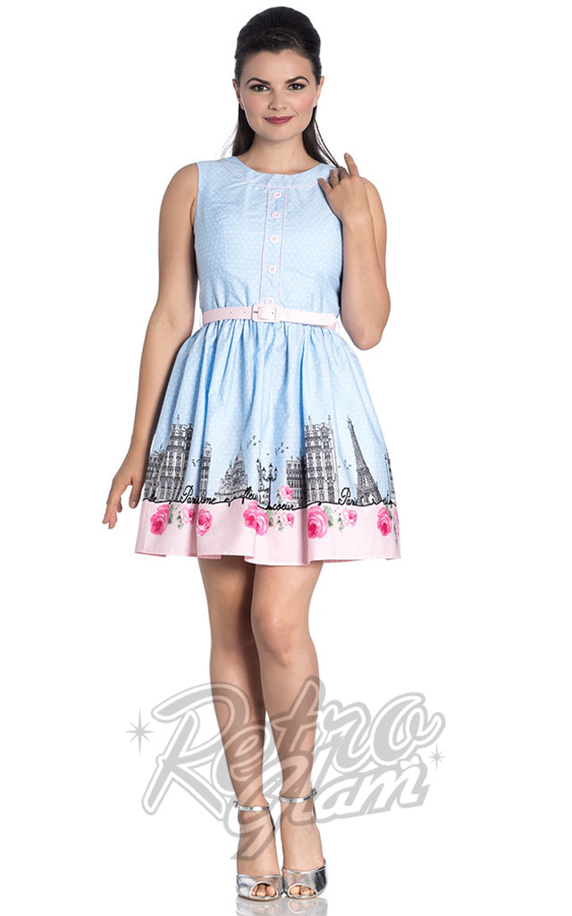 Hell Bunny Paname Mini Dress