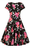 Hell Bunny  50's Dress back