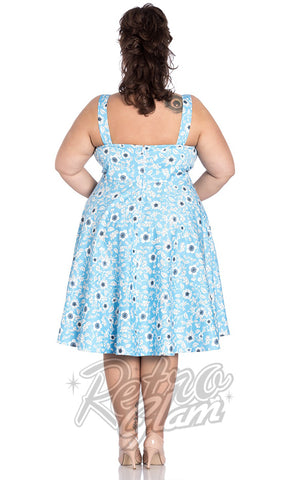 Hell Bunny Daphne 50's Dress Curvy back