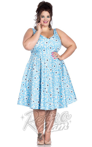 Hell Bunny Daphne 50's Dress Curvy