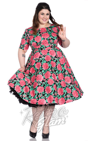 Hell Bunny Darcy 50's Dress Curvy