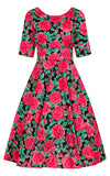 Hell Bunny Dress Roses