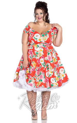 Hell Bunny Marguerita 50's Dress Plus sized pinup