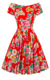 Hell Bunny floral Dress pinup