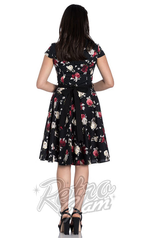 Hell Bunny Abella Dress back