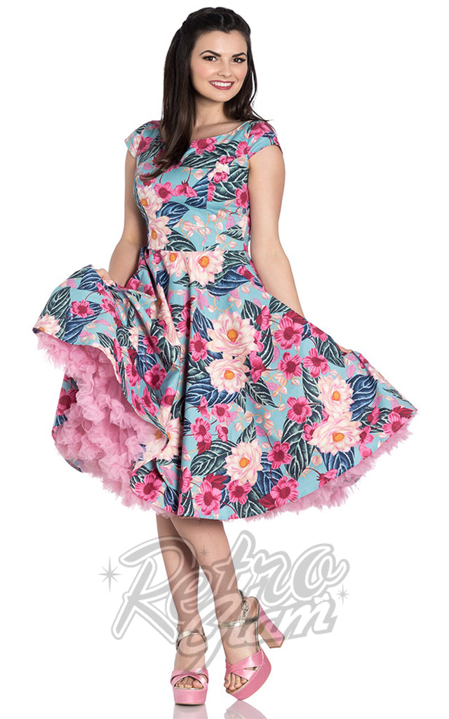 Hell Bunny Lotus Dress