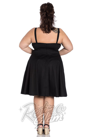 Hell Bunny Hatiora Dress Curvy back