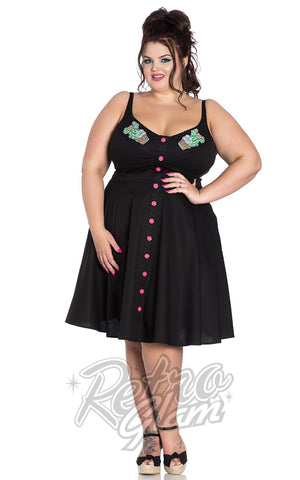 Hell Bunny Hatiora Dress Curvy