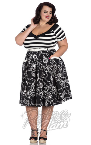 Hell Bunny Mistral 50's Skirt