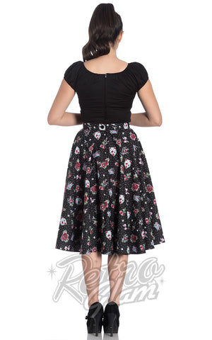 Hell Bunny Stevie 50's Skirt back