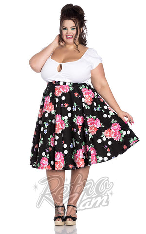 Hell Bunny Collarette 50's Skirt plus size