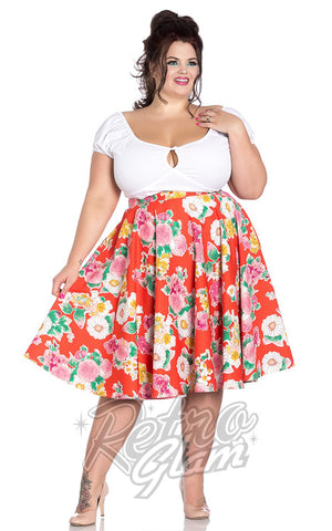 Hell Bunny Marguerita Plus Size 50's Skirt
