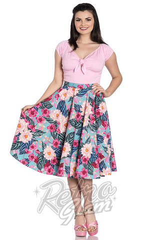Hell Bunny Lotus 50s Skirt