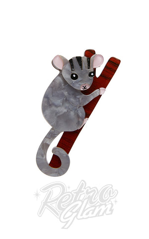 Erstwilder Possum at Play Brooch