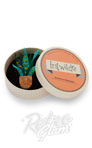 Erstwilder Potted Perfection Brooch box