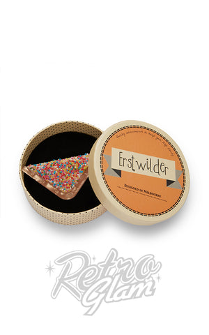 Erstwilder Fairy Bread Brooch