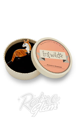 Erstwilder Prince Of The Prairie Black-Footed Ferret Brooch box