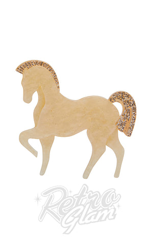Erstwilder Friesian Fancy Brooch