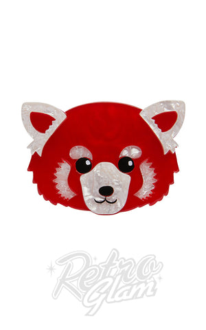 Erstwilder Lesser Rusty Red Panda Brooch