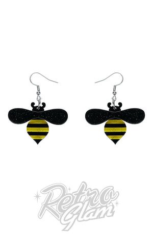 Erstwilder Babette Bee Drop Earrings