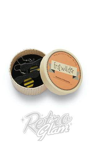 Erstwilder Babette Bee Drop Earrings box