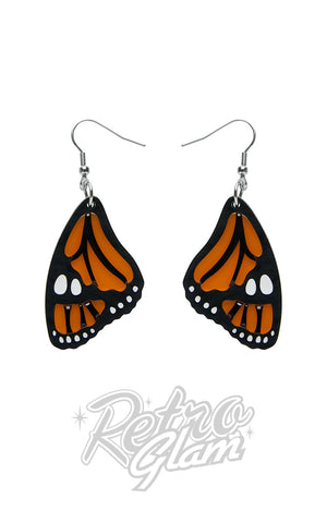 Erstwilder Prince of Orange Drop Earrings