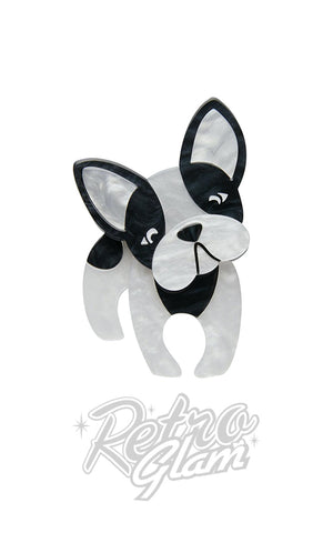 Erstwilder Fabian the French Bulldog Brooch