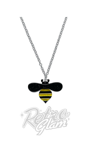 Erstwilder Babette Bee Small Pendant Necklace