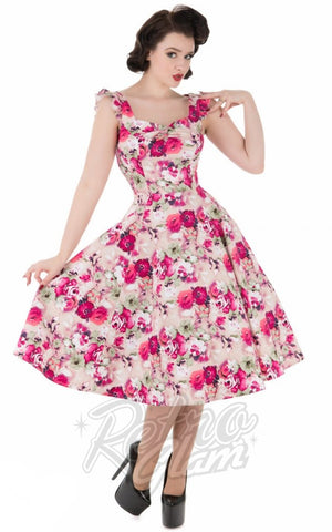 Hearts and Roses 50's Samantha Sun Dress