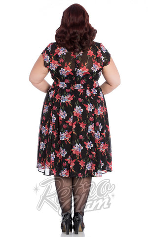Hell Bunny Rayna Dress Back Plus Size