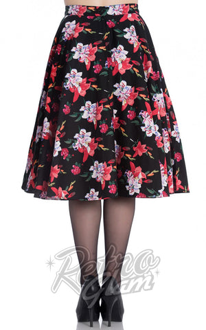 Hell Bunny Liliana 50's Skirt Back