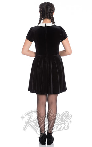 Hell Bunny Miss Muffet Mini Dress Back
