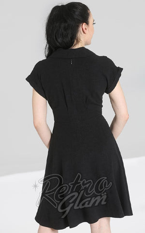 Hell Bunny Sahara Dress in Black back